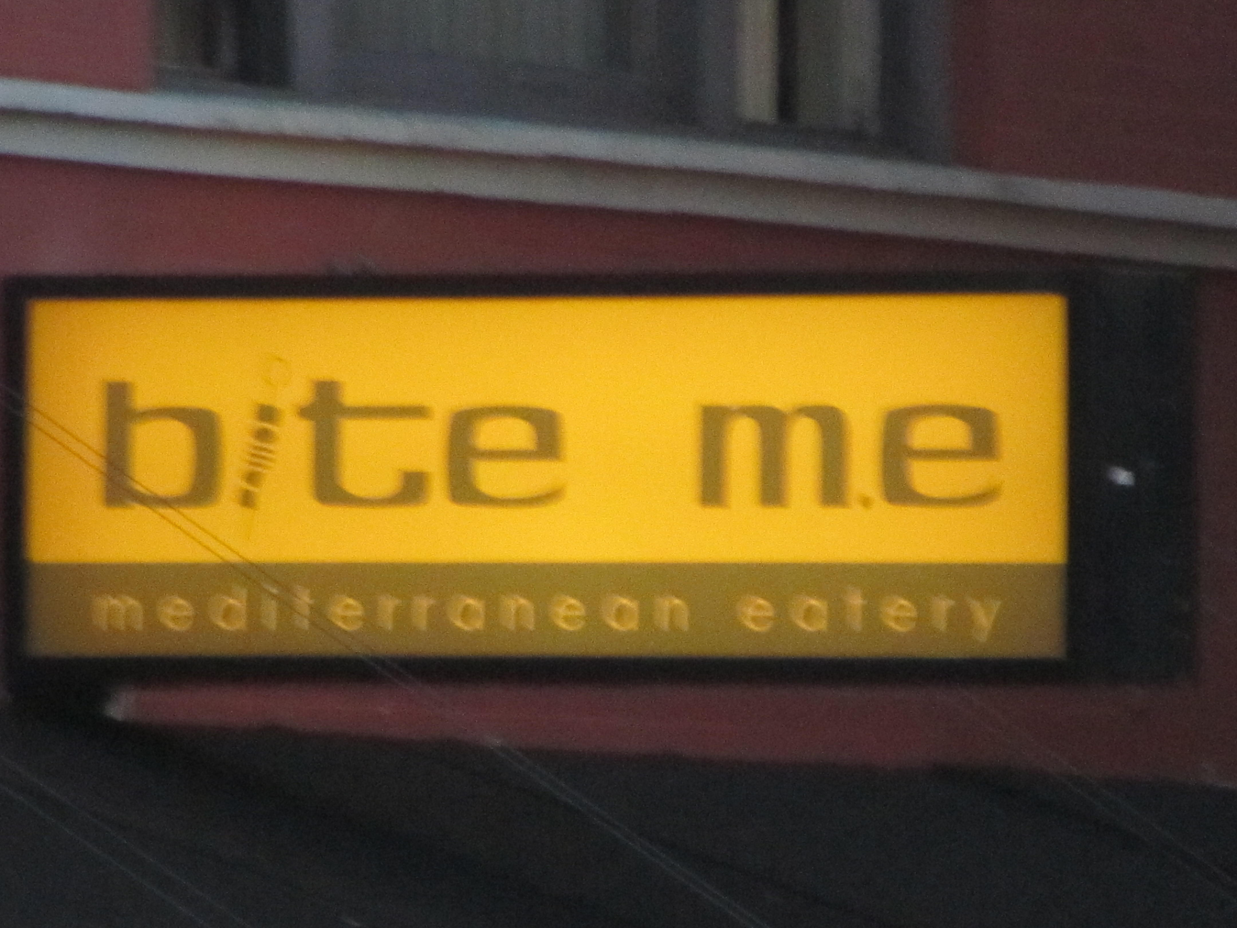 How to name the restaurant