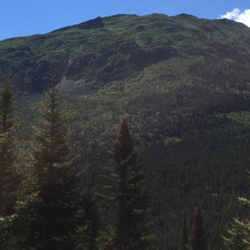 park mountain range