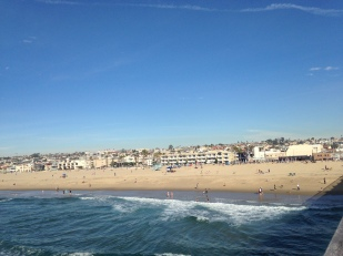 Hermosa Beach from the pier